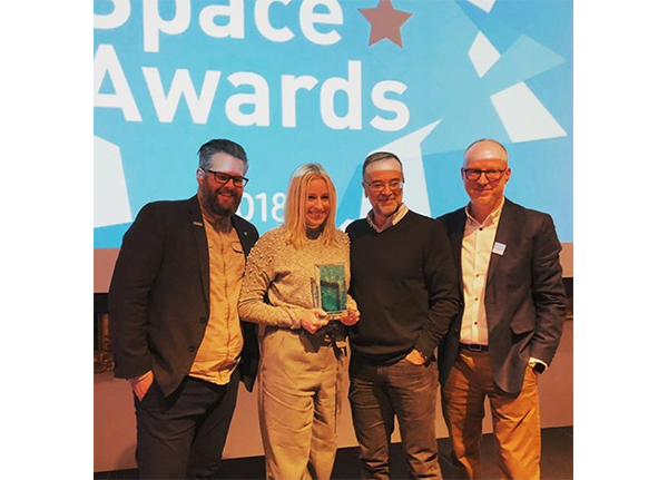 accepting space award