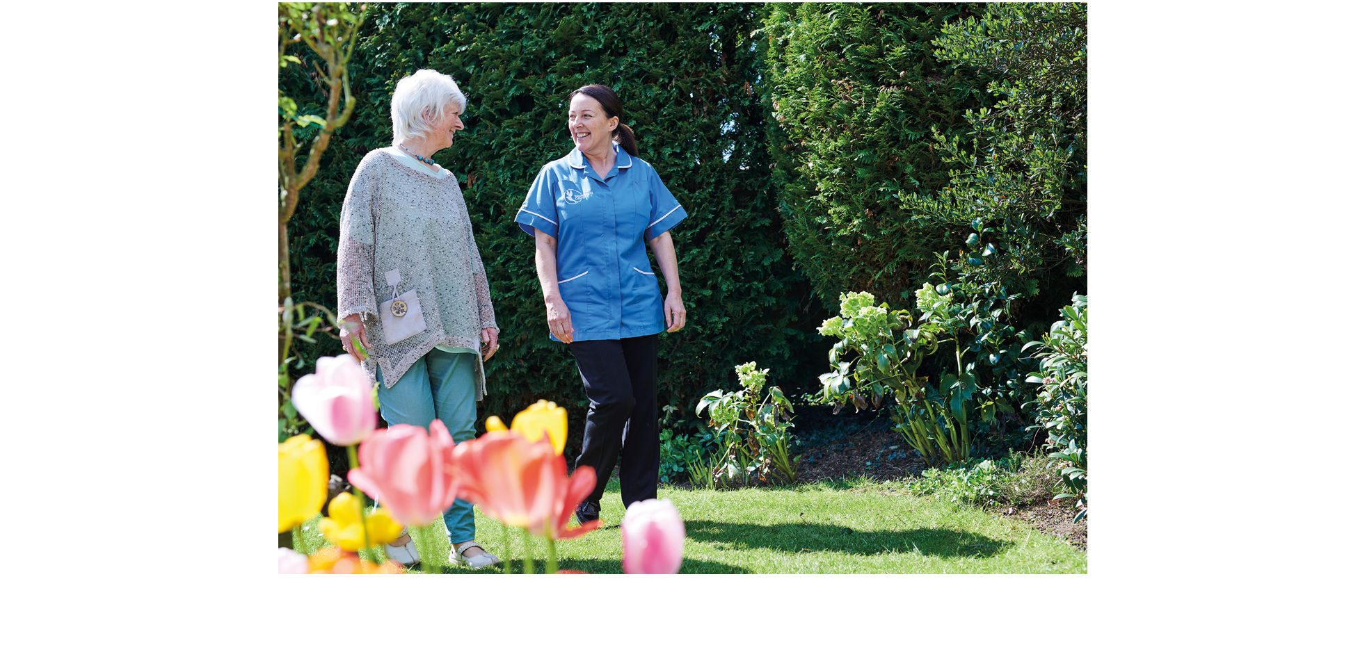 Bluebird Care Carer Patient Image