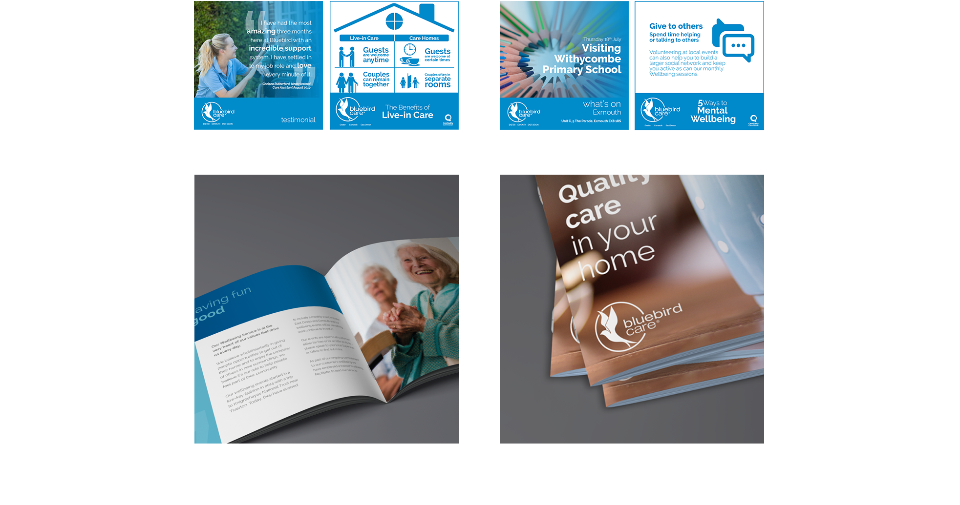 Live-in care brochure pre and post examples