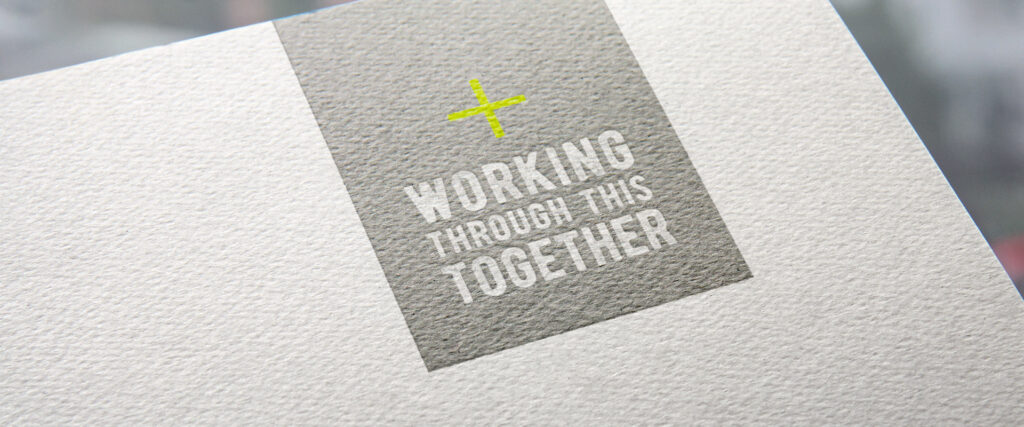 working through this together print